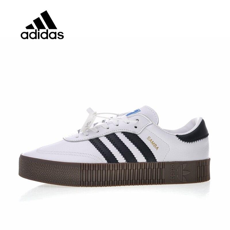 Original Nouvelle Arrivée Officielle Adidas Originals Samba Rose W hommes et femmes Chaussures de Skateboard Baskets Bonne Qualité AQ1134
