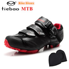 Tiebao Racing sapatilha ciclismo MTB Cycling Shoes zapatillas deportivas mujer Bicycle Mountain Shoes For Men Sneakers Women