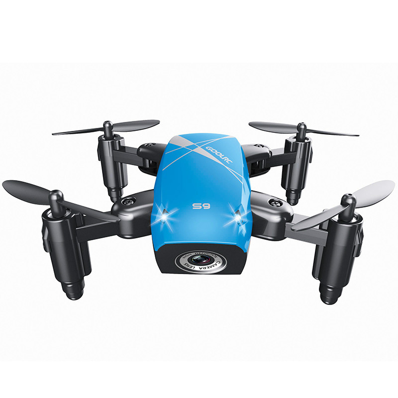 S9HW Mini Drone With Camera HD S9 No Camera Foldable RC Quadcopter Altitude Hold Helicopter WiFi FPV Micro Pocket Drone Aircraft 24