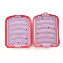 New silicone sausage mold kitchen ham DIY cake baking making tools high quality material