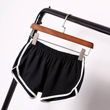 Women Athletic Shorts Cool Ladies Sport Running Short Fitness Clothes Jogging  Female Yoga W8