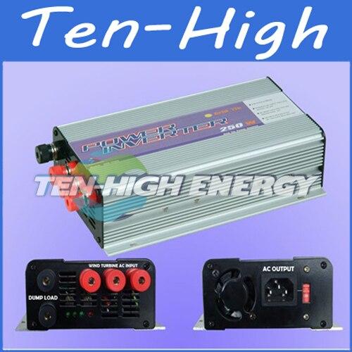 Fedex freeshipping! 250W Grid Tie Inverter for wind turbine, Wide voltage input Power Inverter,DC 10.8V ~ 30V Or 22V~60V