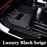 Индивидуальные автомобильные коврики для Toyota Prius camry Прадо RAV4 Corolla Горец Тюнинг автомобилей ковер любую погоду вкладыши