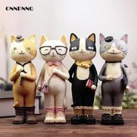 Creative H 22cm Kawaii Nicole Cat Resin Crafts Accessories Figurine Piggy Money Pot Student Gift Birthday Gift Craft Home Decor
