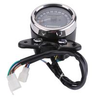 Motorcycle LED Indicator Odometer Speedometer Oil Meter Gauge Aluminum housing make shockproof USB port Fit for CG125 GN125