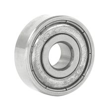 Hot Sale Silver Metal 627Z Deep Groove Ball Bearing 7mm x 22mm x 8mm 627Z Metal