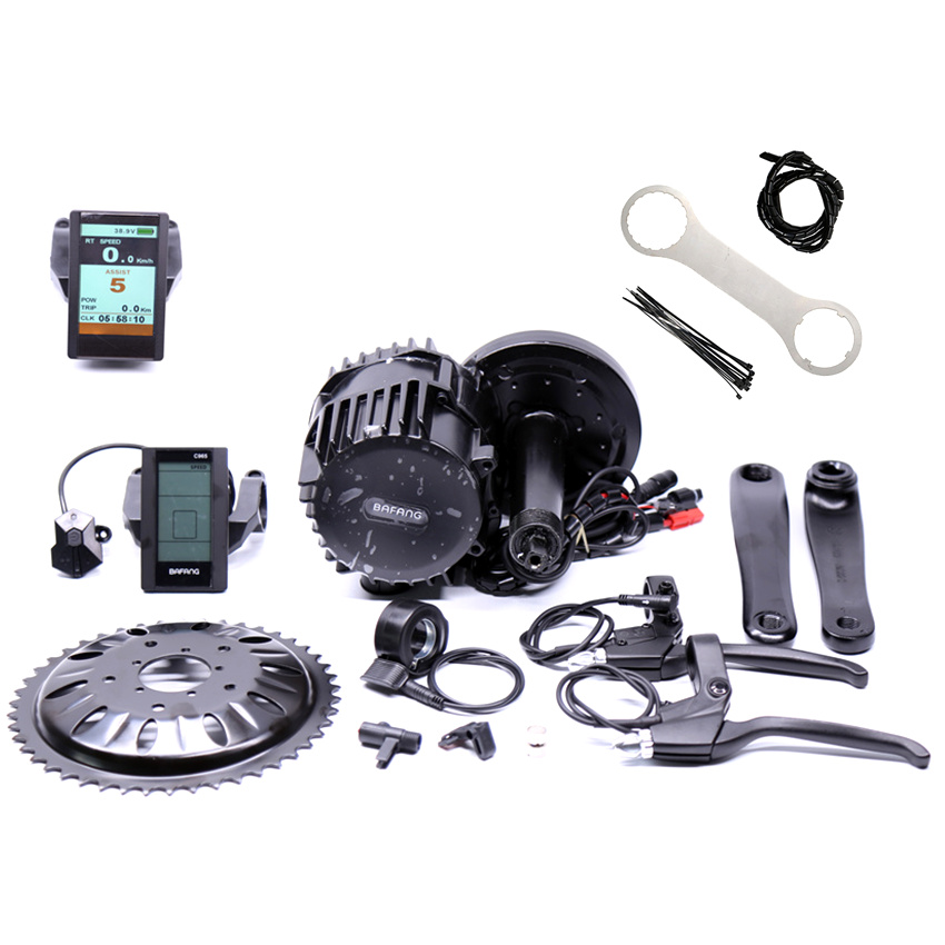 Promotion Real Free Shipping 48v 1000w Bafang/8fun Bbs03 Bbshd Ebike Electric Bicycle Motor Mid Drive Bike Conversion Kit free shipping electric bicycle 48v 1000w 8fun bafang bbs03 bbshd mid drive motor kit 68mm 100mm 120mm with c965 lcd display