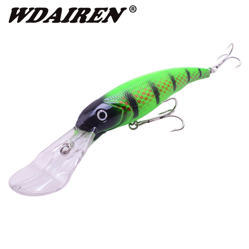 1Pcs 16.5cm 28g Big Minnow Fishing Lures Crankbait Iscas Artificiais Para Pesca Sea Wobbler Swimming Baits Fishing Tackle mymei new mixed assorted sea fishing lures crankbait hooks minnow baits rig jig tackle