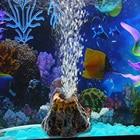 Nice Volcano Shape Aquarium fish tank decor oxygen pump air bubble stone Air Pump Drive Fish Tank Toy aquarium Ornament Decor