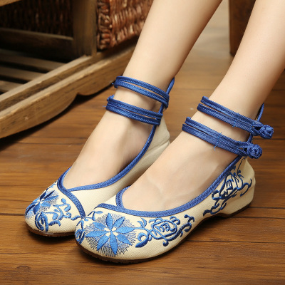 Free shipping lotus flower/peacock/butterfly/etc Beijing traditional cloth shoes/ancient cosplay