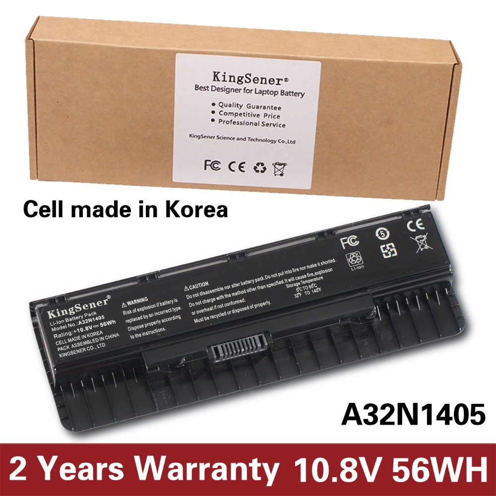 10.8V 56WH A32N1405 New Battery for ASUS ROG N551 N751 N751JK G551 G771 G771JK GL551 GL551JK GL551JM G551J G551JK G551JM G551JW