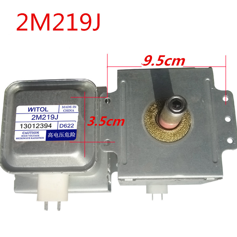 Genuine original microwave Oven Magnetron for midea WITOL 2M219J magnetic tube disassemble 9 into a new the new hg10 48d12 and disassemble
