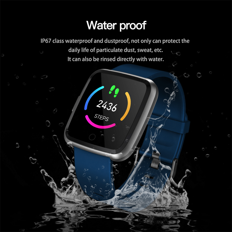 Smart watch Bracelet Blood Pressure Oxygen Sport Tracker smartwatch Waterproof Heart Rate Monitor Wristband For Men Women ios in Smart Watches from Consumer Electronics