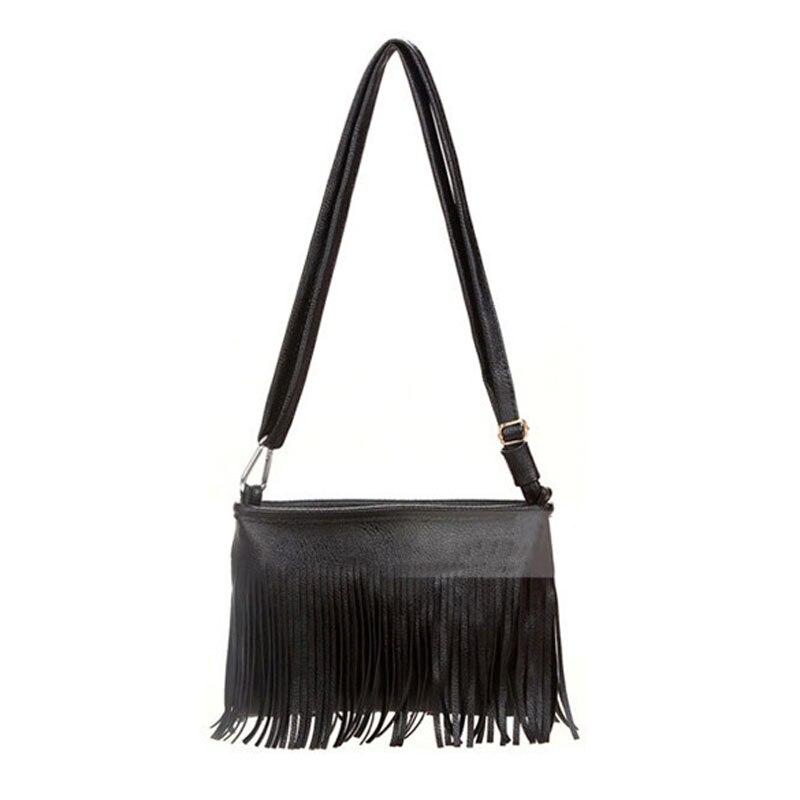 venta caliente de la borla de bolsas de hombro pequeo mujeres messenger bag ladies cross body