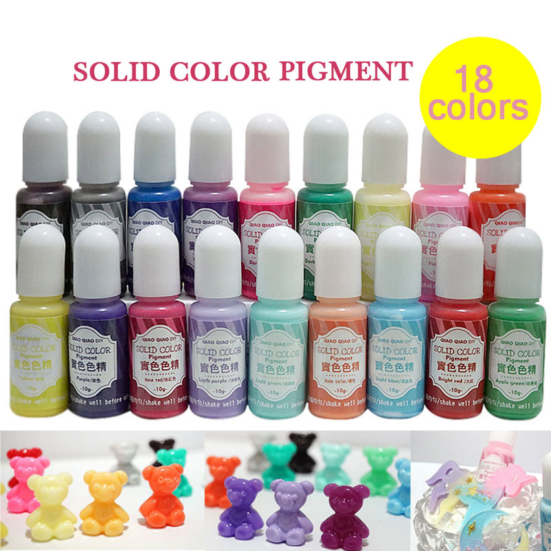 UV Resin Pigment Polish Solid Glue For Silicone Mold Jewelry Making DIY Handmade Crafts @M23