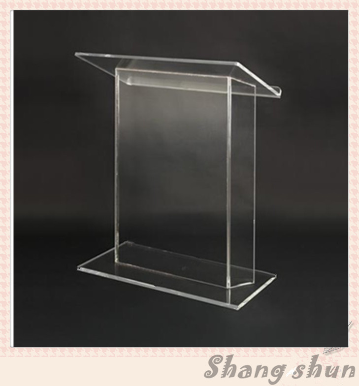 FREE SHIPPING ACRYLIC TABLE ACRYLIC LECTERN ACRYLIC PODIUM LECTERN ACRYLIC PULPIT  PLEXIGLASS DAIS free shipping high quality price reasonable cleanacrylic podium pulpit lectern podium