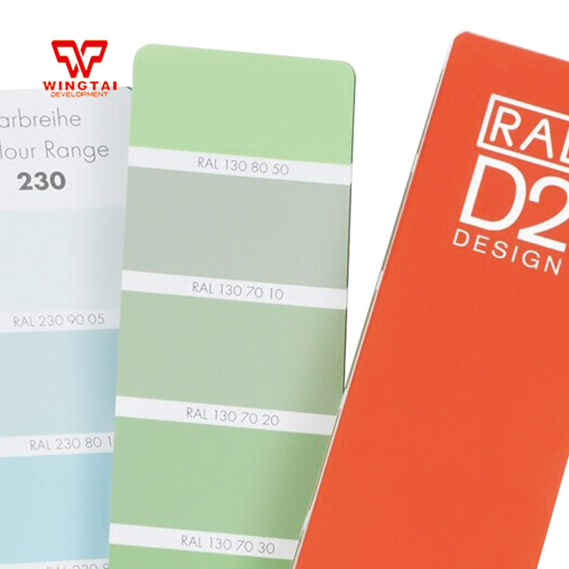 Germany Original RAL D2  Shade Card 1625 Kinds Of Colors