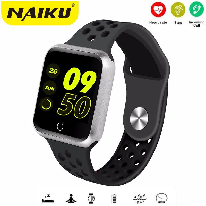 NAIKU S226 Inteligente Relógio Das Mulheres Dos Homens de Fitness Rastreador Monitor De Freqüência Cardíaca Pedômetro Pulseira Inteligente Pressão Arterial IOS Android pk B57