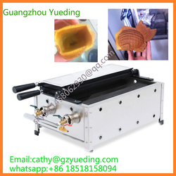 high quality gas goldfish machine for sell/commercial taiyaki waffle machine