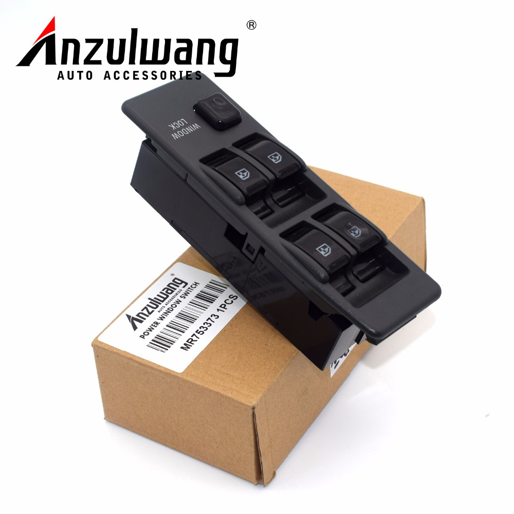 Front LHD Power Electric Window Switch MR753373 Master Controller Switches New Auto Replace Parts Fit Mitsubishi Pajero V31 V32
