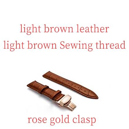 light brown rose gol