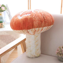 Kawaii Cute Plush Toys Mushroom 20cm Small Pillow Soft For Children Valentine 3dFood Vegetable Vegetables