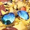 New 2017 HDCRAFTER Man Sunglasses Goggle Eyewear Fashion Driving Car Fishing Pilot Uv Protection Wrap UV400 Antiglare Oval E011