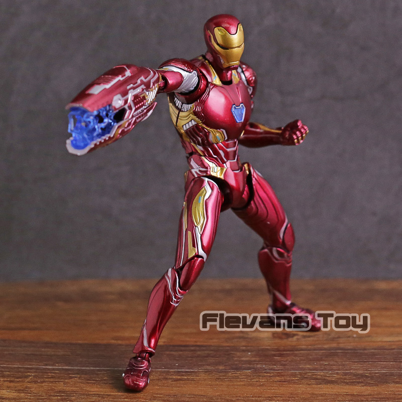 цена на SHF SHFiguarts Iron Man MK 50 Mark XLX PVC Action Figure Collectible Model Toy