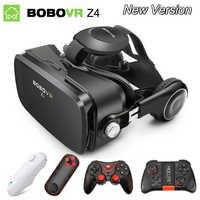 Óculos de Realidade Virtual 3D VR Óculos Originais BOBOVR Z4/bobo Z4 Mini google Caixa de papelão VR vr 2.0 Para 4.0-6.0 polegada de smartphones
