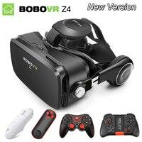 המשקפיים 3D VR מקורית משקפיים מציאות מדומה BOBOVR Z4/ובו vr Z4 מיני google קרטון VR תיבה 2.0 ל 4.0-6.0 inch smartphone