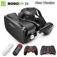 Wirtualna Rzeczywistość gogle 3D VR okulary oryginalny bobovr Z4 Bobo VR Z4 mini Google Cardboard VR Box 2 0 dla smartfona 4 0-6 0 inch tanie tanio Zestawy kontrolerów Lornetki Pakiet nr 4 Smartfonów Wciągające Brak w bobovr BOBOVR Z4 Z4 MINI Spolaryzowane Okulary VR