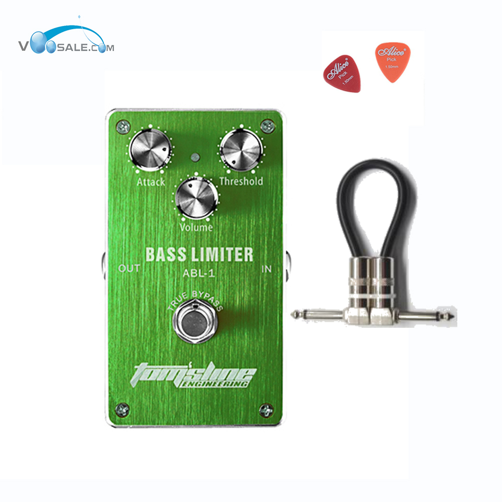 Aroma ABL-1 Bass Limiter Premium Analogue Effect Guitar Pedal Bass Compressor Pedals CE ROHS Effects Pedals + Free Cable aroma are 3 roto engine guitar effect pedal mini digital pedals effects ce rohs with true bypass