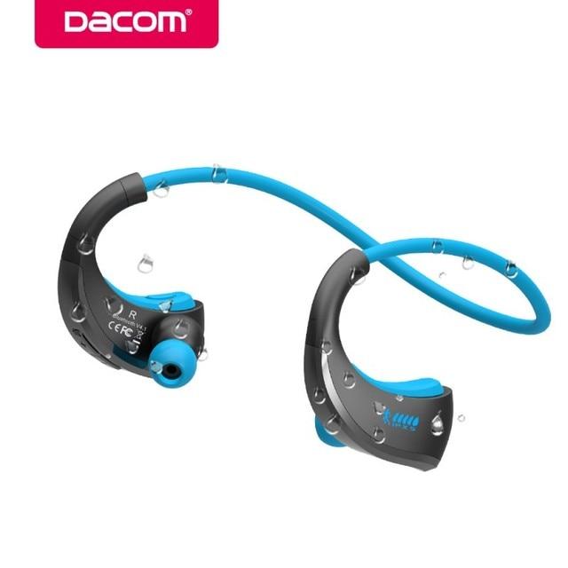Dacom Armatura Cuffie Bluetooth Senza Fili Impermeabile di Sport Musica  Auricolari Stereo Telefono Auricolare Auricolari Per 80e74a8c7f5f