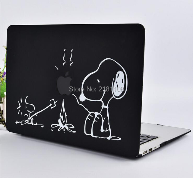 Protective Cover Matte Hard Case Cute Cartoon Design Carry Shell Coque for Macbook Air 11 13