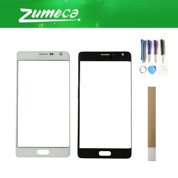 For Samsung Galaxy Note 4 Edge N915F N915A N915G N915T N915 Front Outer Glass Touch Panel Lens Glass Black White Color+Tape&Tool