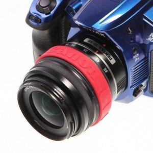 Image 2 - Meking Anillo de enfoque de seguimiento de silicona para Canon DSLR, filtro de lente antideslizante, banda de goma para Control de zoom