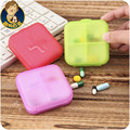 Receive a case points kit portable mini old man take pill storage boxes sealed container small PCS