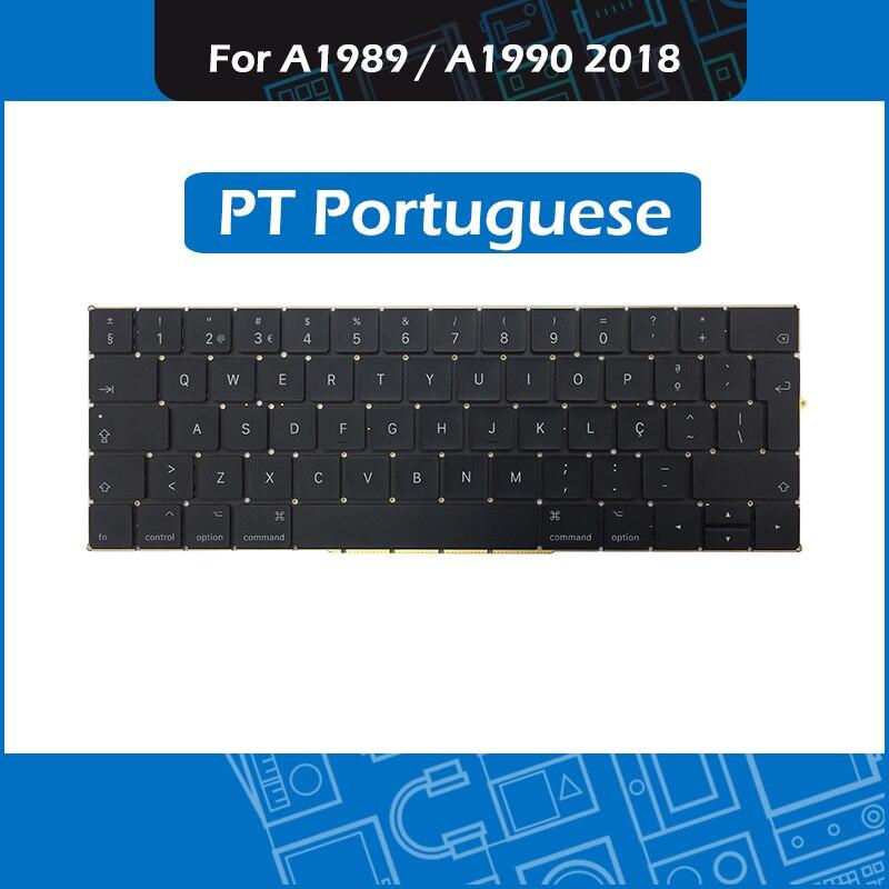 Full New PT Portuguese Keyboard for font b Macbook b font Pro Retina 13 15 A1989