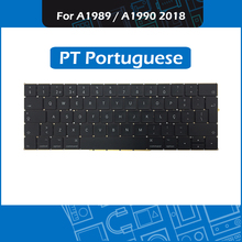 Full New PT Portuguese Keyboard for Macbook Pro Retina 13″ 15″ A1989 A1990 Portugal Keyboard Replacement MR9Q2 MR932 MR942