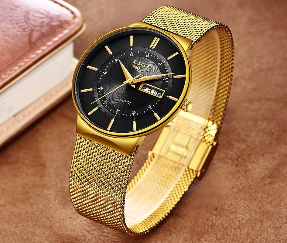 HTB1ZvrMX3aH3KVjSZFpq6zhKpXaY Mens Watches LIGE Top Brand Luxury Waterproof Ultra Thin Date Clock Male Steel Strap Casual Quartz Watch Men Sports Wrist Watch