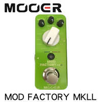 MOOER MME2 MOD FACTORY MKII Multi Modulation Effect Pedal 11 Modulation Effects Tap Tempo True Bypass Full Metal Shell