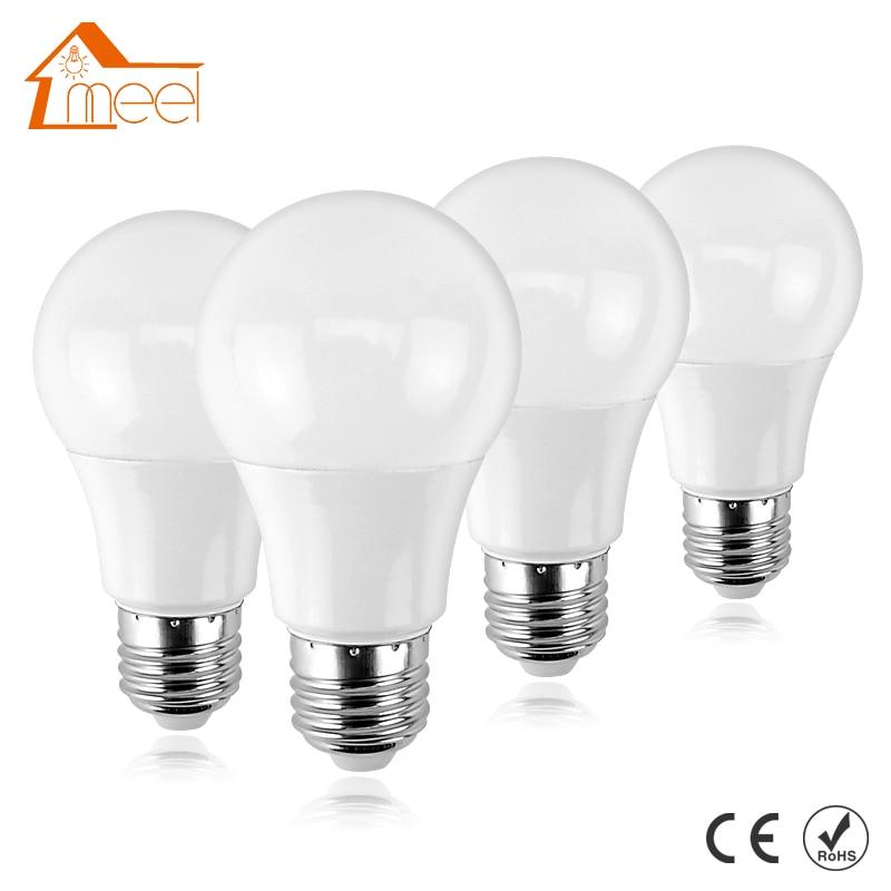 Led Lamp E27 220V 240V 3W 5W 7W 9W 12W 15W 18W LED Bulb Light Lampada de Bombillas LED Candle Light