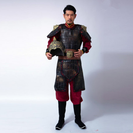 d4f8bad15 high quality chinese soldier costume ancient chinese armor costume for men  historical costume ancient dynasty cosplay