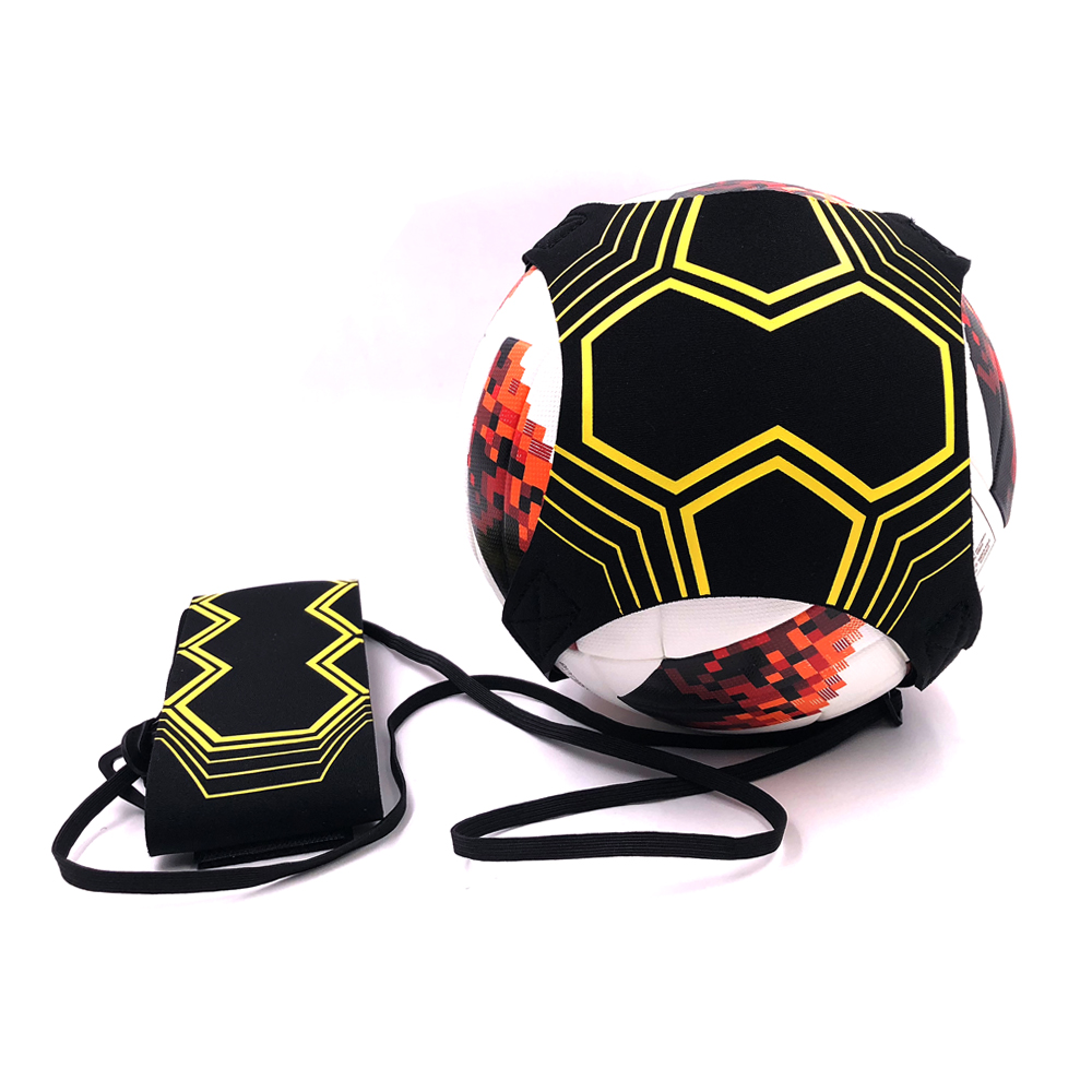 Soccer Training Belt Star Kick Hands Free Solo Football Trainer Fits Ball Size 3 4 5 Equipment Practice Assistance Dropshipping