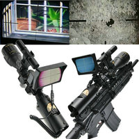 DIY Night Vision Rifle Scope LCD Monitor Hunting Trail Camera w/ Infrared IR Torch for Tatical night vision riflescopes Moncular