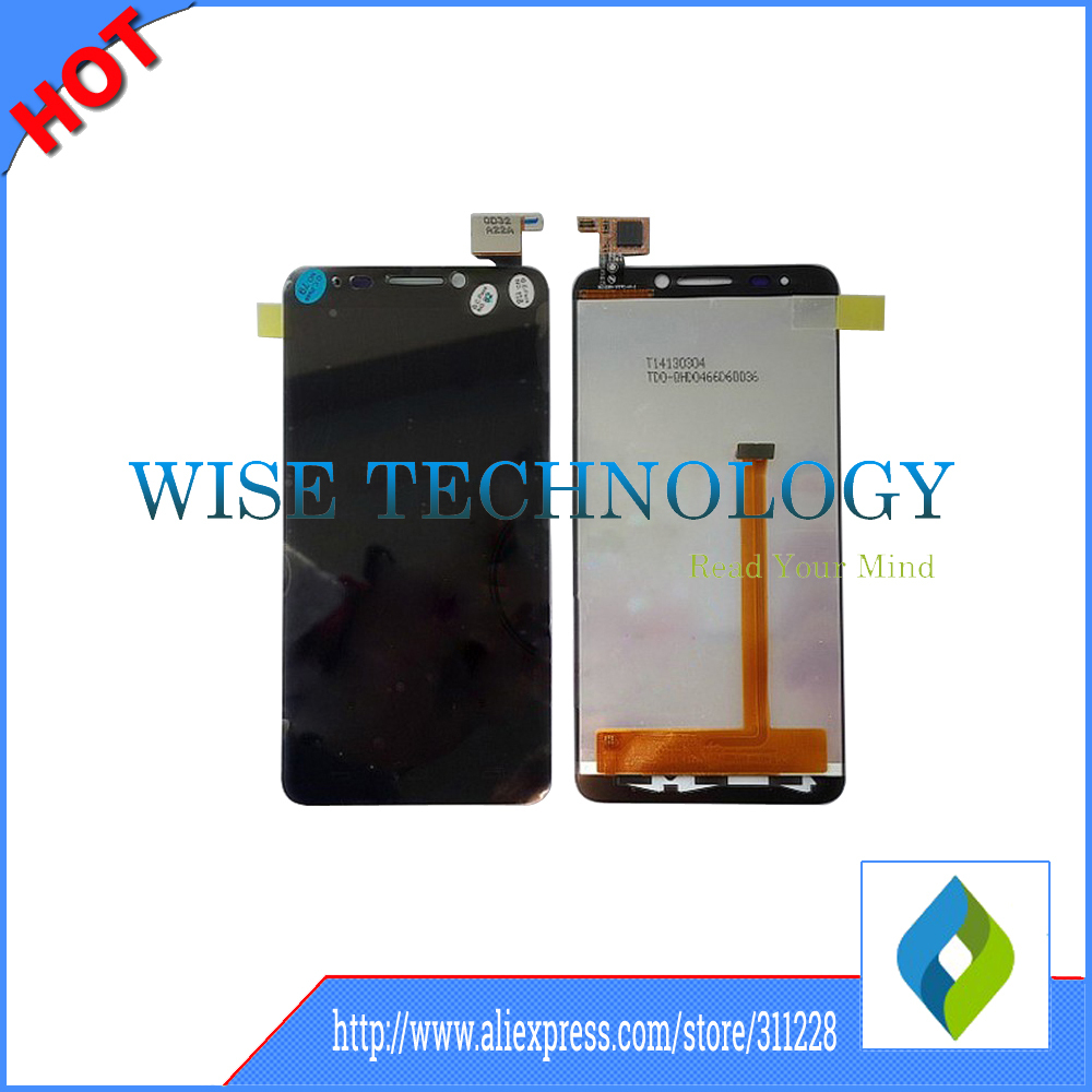 For Alcatel One Touch Idol TCL S820 LCD Display +digitizer touch Screen Assemblely Black by free shipping, mobile phone LCD