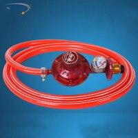 1 pcs Domésticos fogão a gás válvula de gás válvula redutora de pressão válvula de válvula de baixa pressão do cilindro de gás liquefeito de gás regulador de pressão