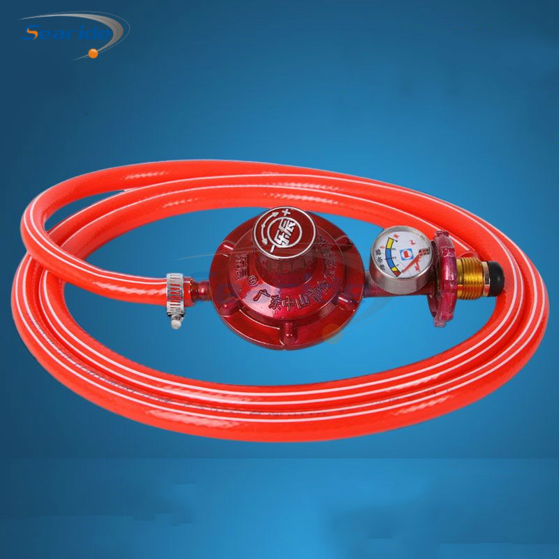 цена на 1Pcs Domestic gas stove gas valve pressure reducing valve liquefied gas cylinder low pressure valve gas valve pressure regulator