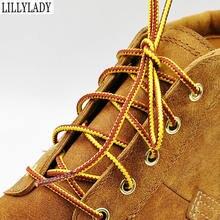 105 и 145 см для больших ботинок дизайн шнурки Круглые повседневные