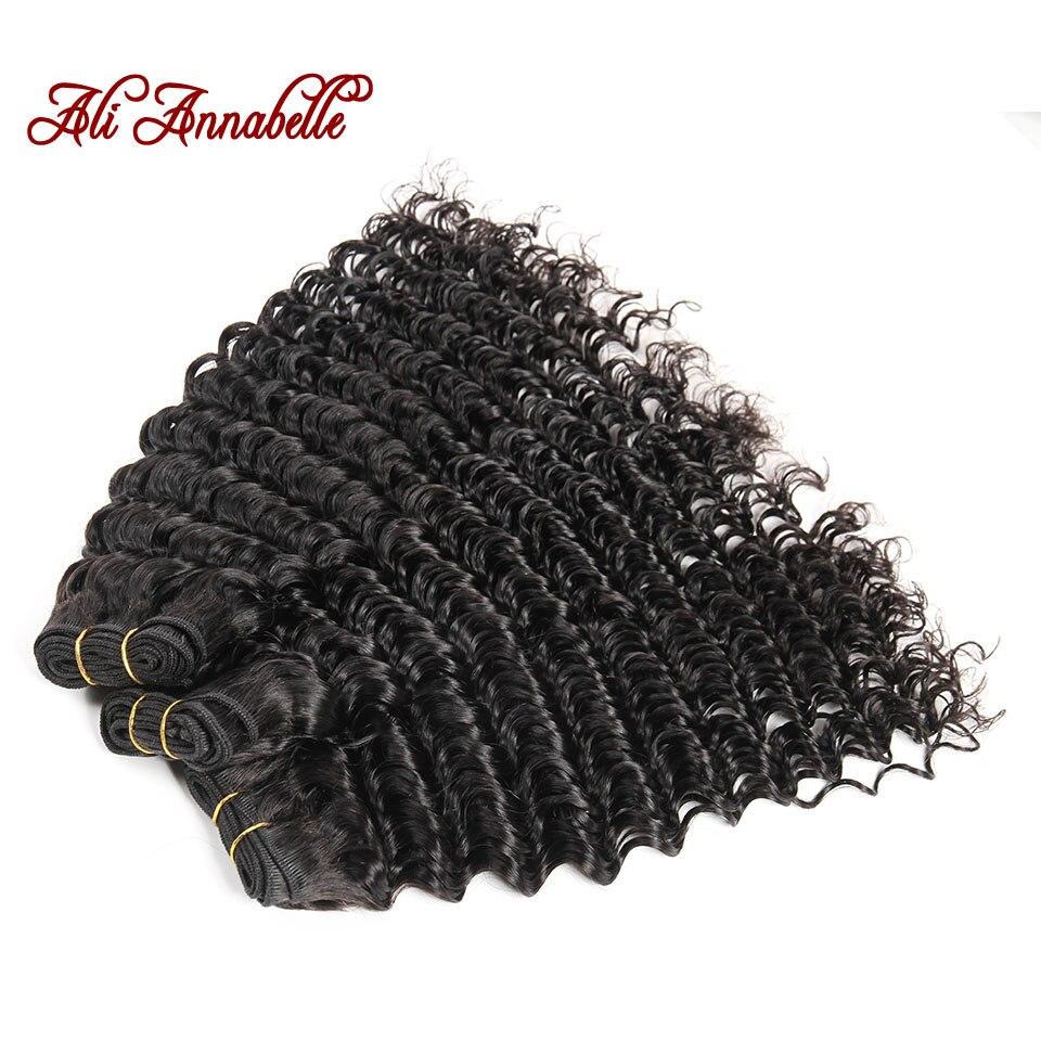 Ali Annabelle Malaysian Human Hair Weave Bundles 3 Bundle Deep Wave Hair 10 28 Inch Hair